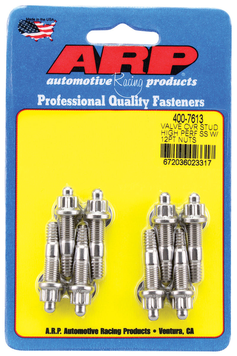 Photo of Valve Cover Studs (ARP) Small-Block - Cast Aluminum Valve Covers 12-pt. head - stainless