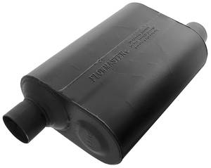 "Muffler, Super 40-Series 2-1/2"" I/O, by FLOWMASTER"