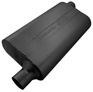 "Muffler, High-Performance 50 Series (3 Chamber) 2-1/4"" I/O, by FLOWMASTER"
