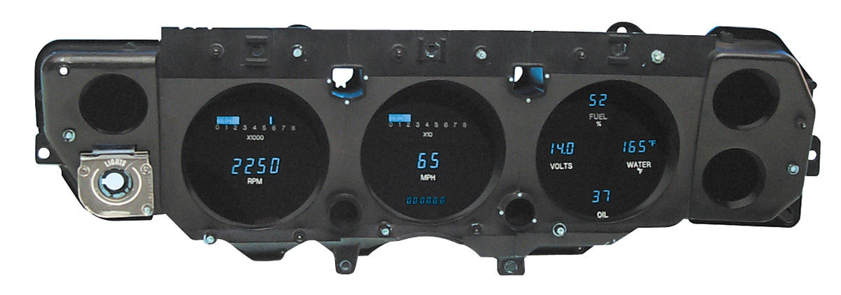 Photo of Gauge Cluster & Housing; Digital (Super Sport)