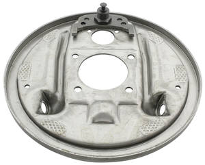 1964-73 LeMans Brake Backing Plate, Rear (Drum)