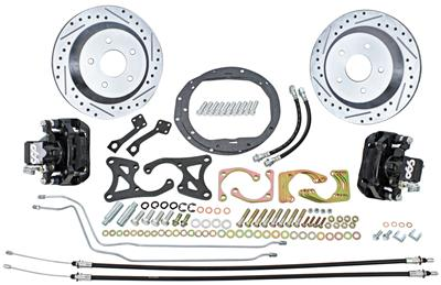 1964-67 Chevelle Brake Kits, Front & Rear Big Brake Disc Rear (Raw Caliper)