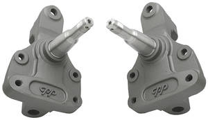 "1964-72 Chevelle Brake Spindles, 2"" Forged Drop"