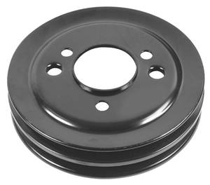 1965-68 Chevelle Crank Pulley, Reproduction Big-Block 2-Groove, w/SHP