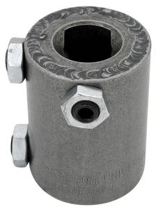 "1964-68 LeMans Steering Column Accessory Coupler 1"", 48-Spline X 3/4 DD"