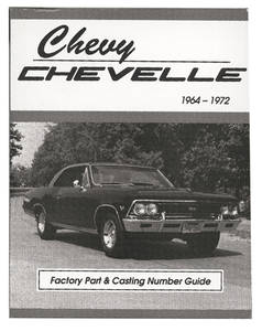Chevelle Numbers & Codes Book, 1964-72
