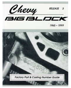 1978-1988 El Camino Chevrolet Big-Block Casting Numbers