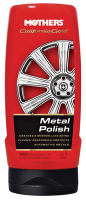 1959-77 Grand Prix PowerBall Polisher & California Gold Metal Polish Metal Polish, 12-oz.