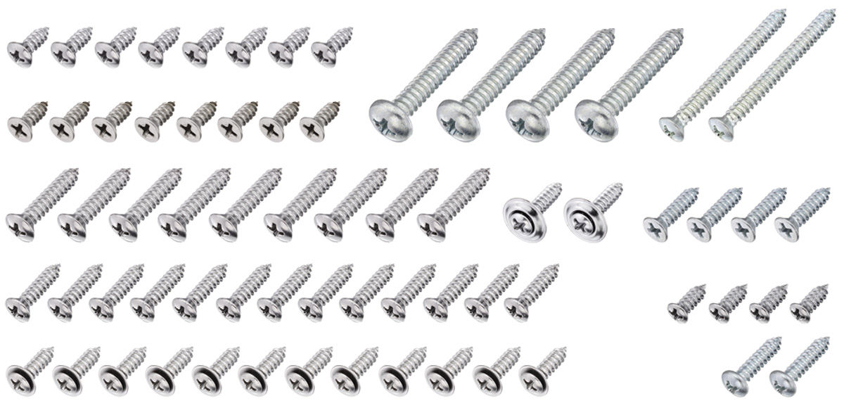 interior screw kit 68