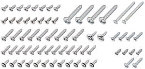 1967 El Camino Interior Screw Kit 68-Piece