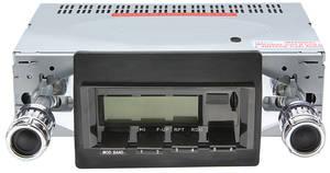 1970-72 Chevelle Stereo, Vintage Car Audio 100 Series Black - SS