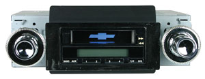 1973-77 Chevelle Stereo, 200 Series Black, by Vintage Car Audio