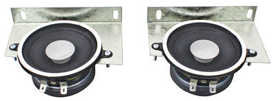 1970-72 El Camino Dash Speaker, Standard 30 Watts w/Factory Stereo Speakers