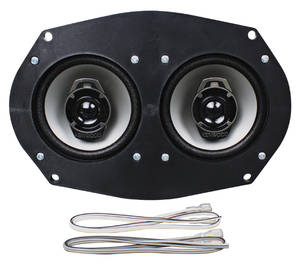 1964-1965 El Camino Speaker, Kenwood Dash 40 Watts All, by Vintage Car Audio