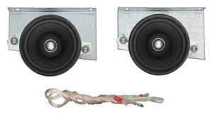 1970-1972 Chevelle Speaker, Kenwood Dash 40 Watts w/Factory Stereo Speaker, by Vintage Car Audio