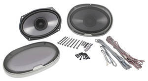 1961-1977 Cutlass Stereo Speakers Kenwood – 2-Way, 200 Watts, by Vintage Car Audio