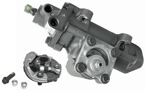 "1978-79 El Camino Steering Gearbox, Delphi (Power) Raw 14:1, 3/4"" - 30-Spline"