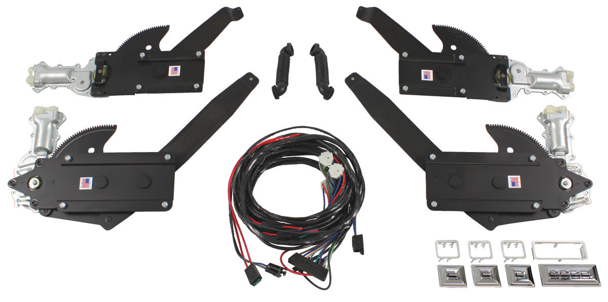 Photo of Power Window Kit (Front & Rear Window) coupe & convertible