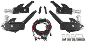 1971-1972 Chevelle Power Window Kit (Front & Rear Window) Coupe & Convertible