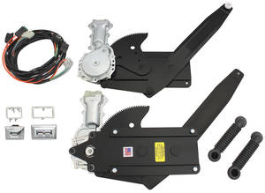 1971-72 Monte Carlo Window Kit, Power (Front Window)