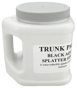1978-1988 Monte Carlo Trunk Spatter Paint (Quart Bottle) Black/Aqua