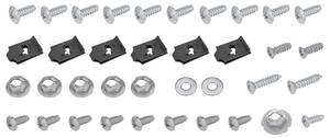 1966-67 Chevelle Console Screw Kit