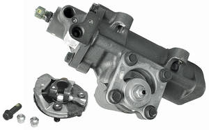 1962-76 Catalina/Full Size Steering Gearbox, Delphi Power Raw, 12.7:1
