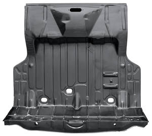 1971-72 Chevelle Trunk Floor, Complete