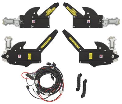 1970-1970 Monte Carlo Power Window Kit (Front & Rear Window)