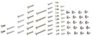 1967 Exterior Screw Sets, Chevelle