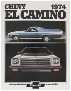 1974-1974 El Camino El Camino Color Sales Brochures