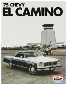 1975 El Camino Color Sales Brochures