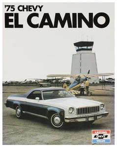1975 El Camino Color Sales Brochures