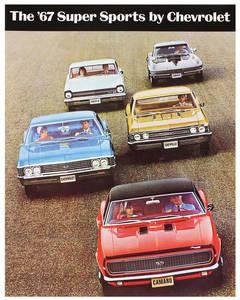 1967 Chevelle Showroom Brochure SS