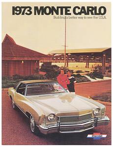 1973-1973 Monte Carlo Monte Carlo Full-Color Sales Brochure