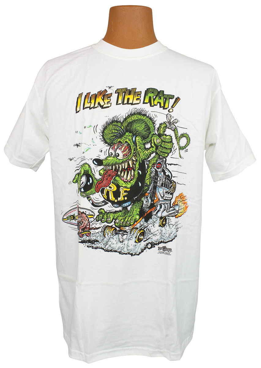 "Photo of Rat Fink T-Shirt ""I Like The Rat!"""