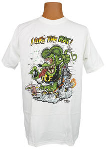 "Rat Fink T-Shirt ""I Like The Rat!"""