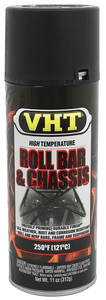 1954-1976 Cadillac Roll Bar & Chassis Paint - Satin Black, 11-oz.