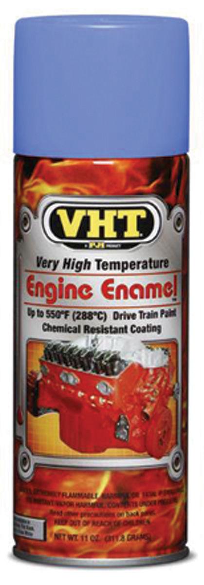 Photo of Catalina/Full Size High-Temperature Engine & Drivetrain Paint Pontiac blue, 11-oz.