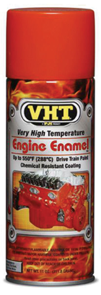 Photo of High-Temperature Engine & Drivetrain Paint Chevy orange, 11-oz.