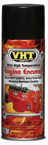 High-Temperature Engine & Drivetrain Paint Gloss Black, 11-oz.