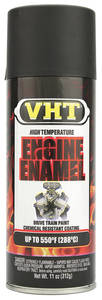 1959-1977 Bonneville High-Temperature Engine & Drivetrain Paint Satin Black, 11-oz.