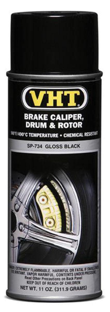 Photo of Brake Caliper & Drum Paint - Gloss Black, 11-oz.