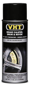 1964-77 Chevelle Brake Caliper & Drum Paint Gloss Black, 11-oz.