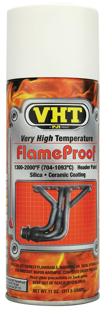 Photo of FlameProof High-Heat Paint white primer - 11-oz.