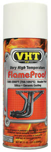FlameProof High-Heat Paint - White Primer, 11-oz.