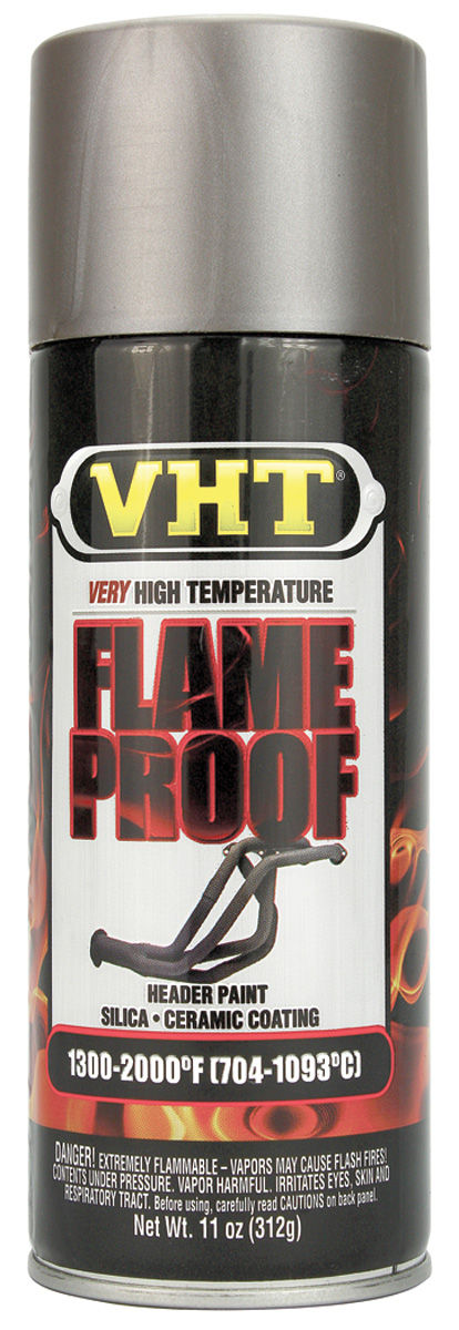 Photo of FlameProof High-Heat Paint - Cast-Iron, 11-oz.