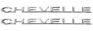 """1964-1964 Chevelle Fender Emblem, 1964 """"Chevelle"""""""