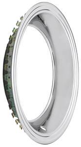 "1964-72 Chevelle Wheel Trim Ring Square Lip 15"" X 7""/15"" X 8"" (2-7/8"" Deep)"