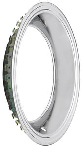 "1964-72 Chevelle Wheel Trim Ring Square Lip 15"" X 7""/15"" X 8"" (2-7/8"" Deep)"